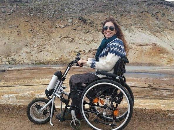 Sedie A Rotelle Torino : Simona la sclerosi multipla e i viaggi «parto per l india in