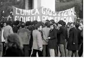 Αποτέλεσμα εικόνας για insurrezione proletaria anni 70
