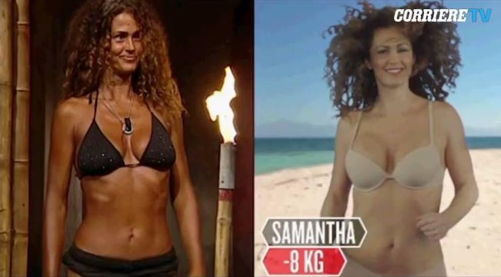 Samantha De Grenet Calendario 2002.Isola Dei Famosi Come Cambiano I Vip Durante Il Reality