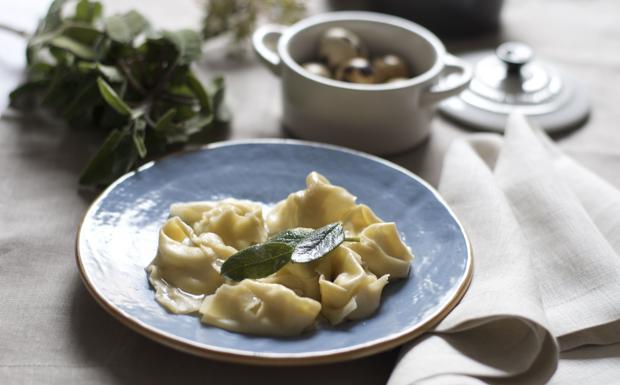 Tortelli senza glutine con spinaci, parmigiano e ricotta