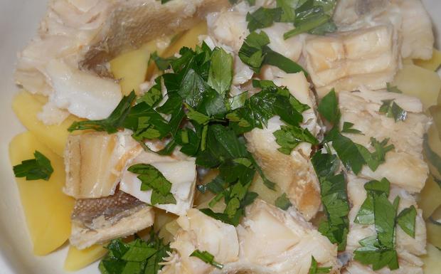 Stoccafisso al forno con patate