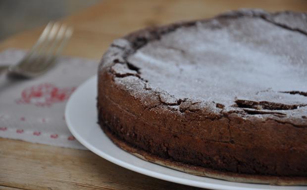 Torta al gianduia