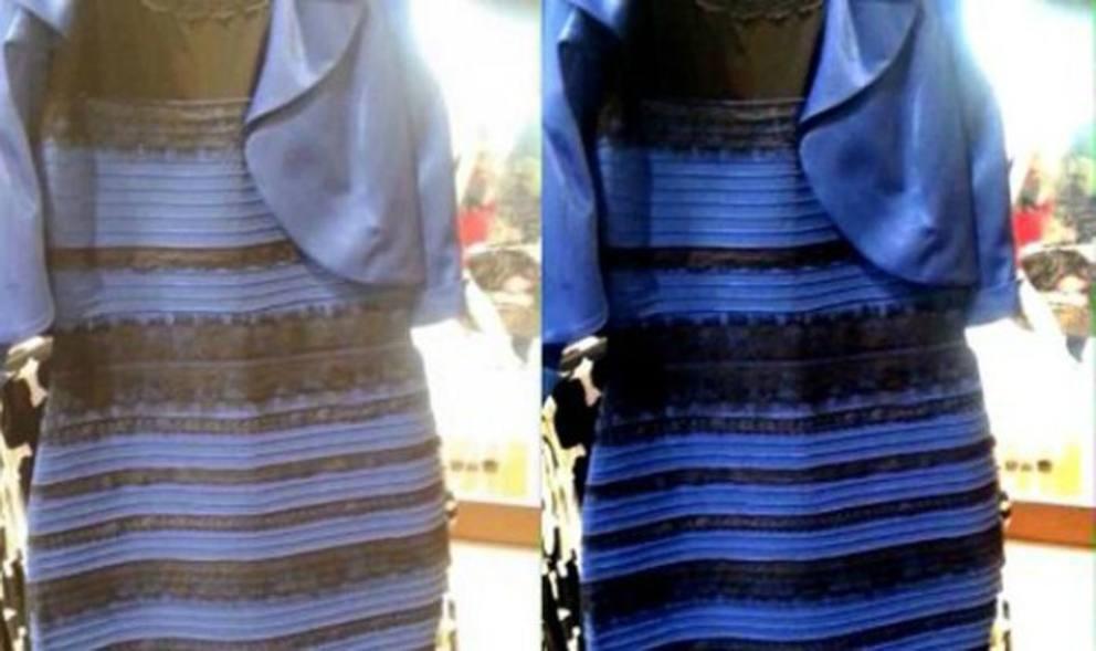 size 40 0bbee 389ea Il vestito bianco e oro o blu e nero? La risposta al ...