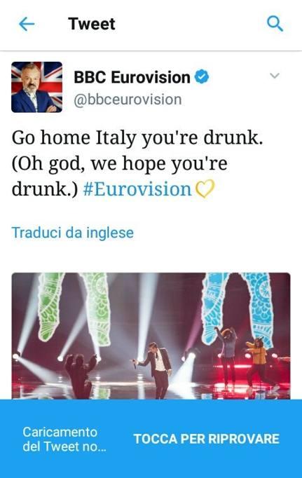 Il tweet della Bbc e i tre voti di San Marino a Gabbani: l ...