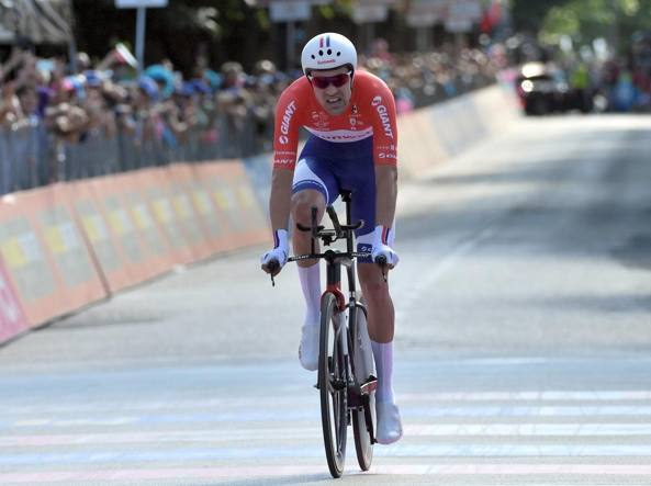 Tom Dumoulin (Afp)