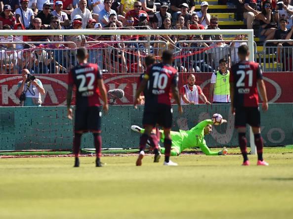 Vivaio Rossonero : Milan cagliari 2 1 rossoneri in vacanza rossoblù in festa al 93