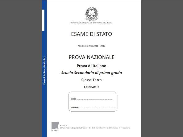 Invalsi Terza Media 2017 Ecco Le Prove Di Italiano Corriereit