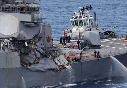 Risultati immagini per Giappone, cacciatorpediniere Usa contro mercantile: sette dispersi