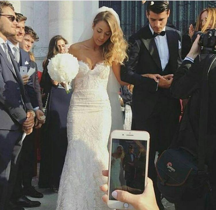 011e2773c5e1 Alice Campello e Alvaro Morata  il matrimonio della fashion blogger ...