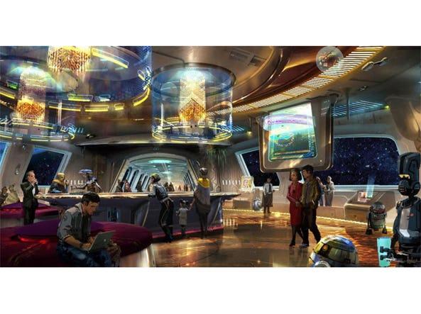 Camere A Tema Disney : Disney ricrea il mondo di star wars: apre lhotel a tema con robot e