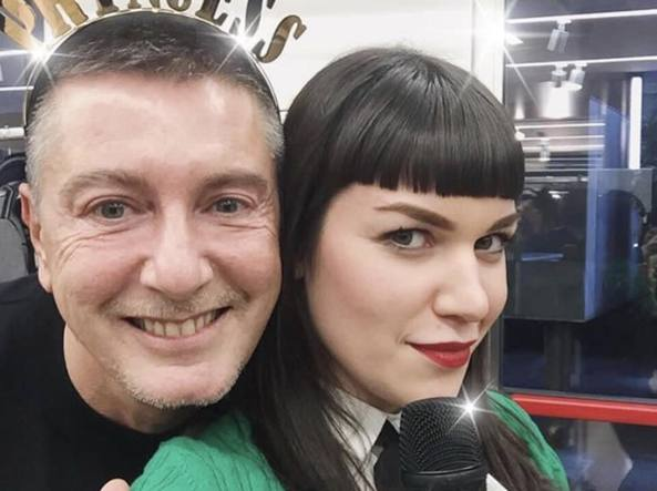 Annie Mazzola con Stefano Gabbana (Instagram) ff605b09044