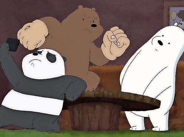We bare bears il cartone sugli orsi che diverte i papà matteo