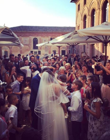 Michelangelo Tommaso Samanta Piccinetti Matrimonio Corriereit
