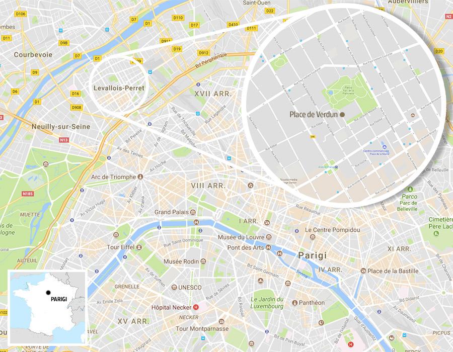 Cartina Politica Di Parigi.La Mappa Dell Attentato Alla Periferia Di Parigi Corriere It