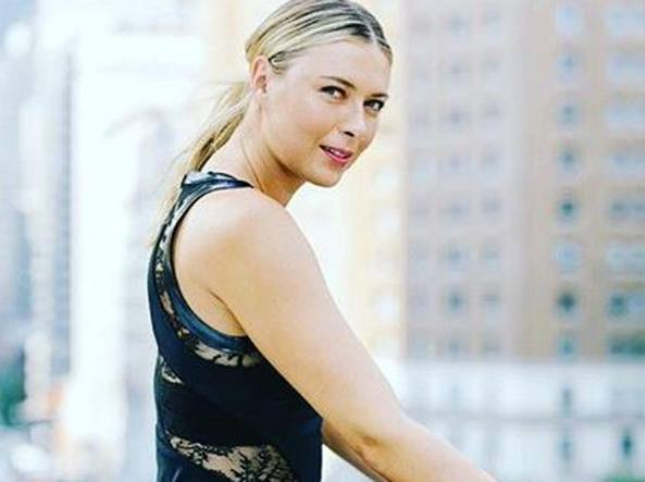 Maria Sharapova Calendario 2020.Us Open Maria Sharapova In Campo Elegante Come Audrey