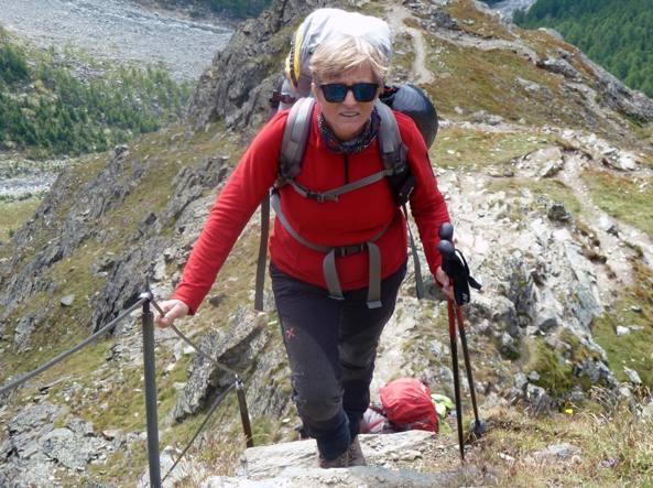 Antonella e le scalate in montagna  «È la mia terapia contro la ... 18283aa25f9
