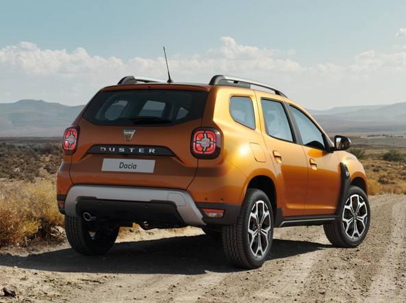 Dacia duster la nuova generazione for Nuova dacia duster immagini