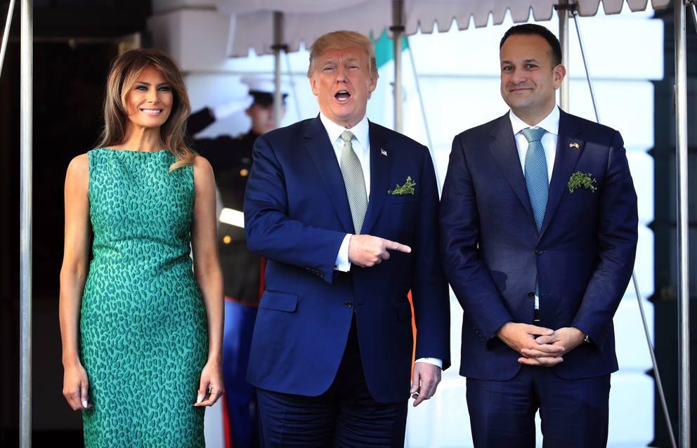 fabbrica gamma completa di specifiche raccolta di sconti Melania Trump e la foto per festeggiare il primo anno da ...