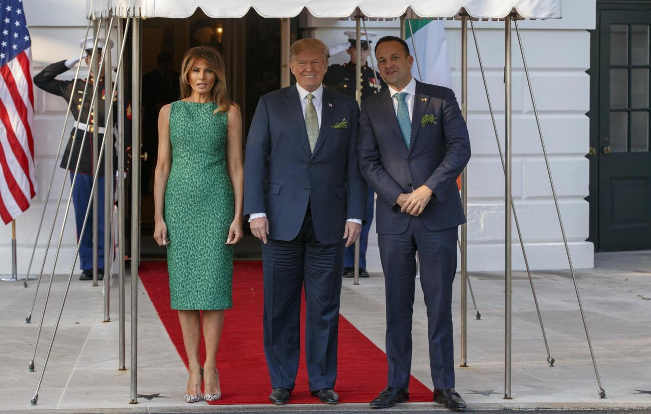 Melania Trump e la foto per festeggiare il primo anno da first lady ... f85442796b4