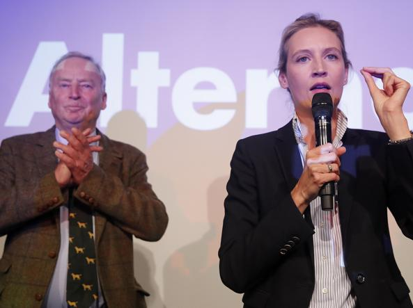 Alice Weidel, leader del partito anti-immigrati e populista AfD (Reuters)