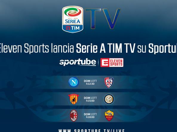 Calcio E Tv Dal 1 Ottobre Tre Partite Di Serie A In Streaming Su Sportube Corriere It