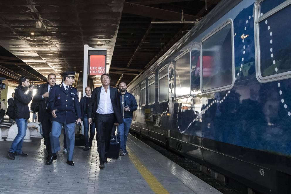 Destinazione Italia Parte Il Treno Di Renzi Corriereit