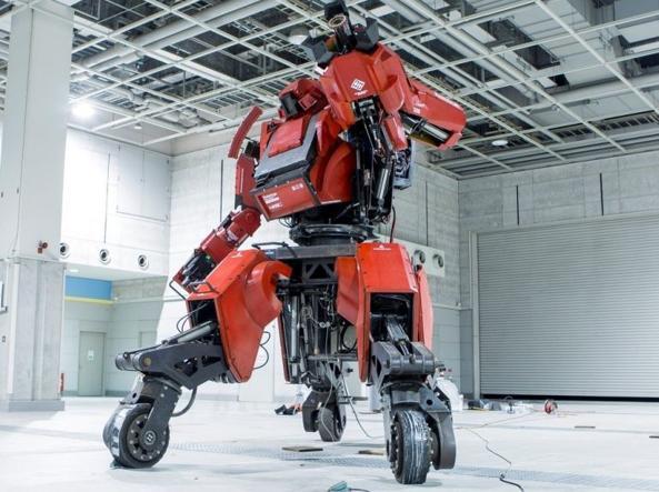 Le battaglie tra robot dei cartoni animati diventano realtà