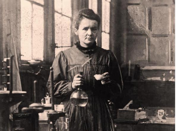 Lettera da Marie Curie.