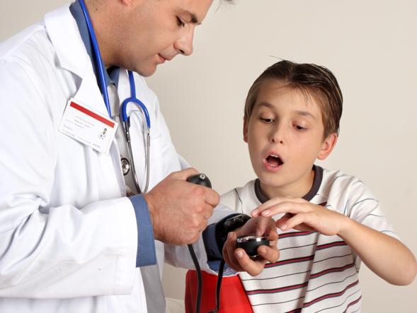 Ma lo sapete che i bambini di oggi hanno la pressione alta?