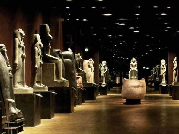 Torino, ma quant'è bello il museo Egizio (vuoto) - Corriere.it