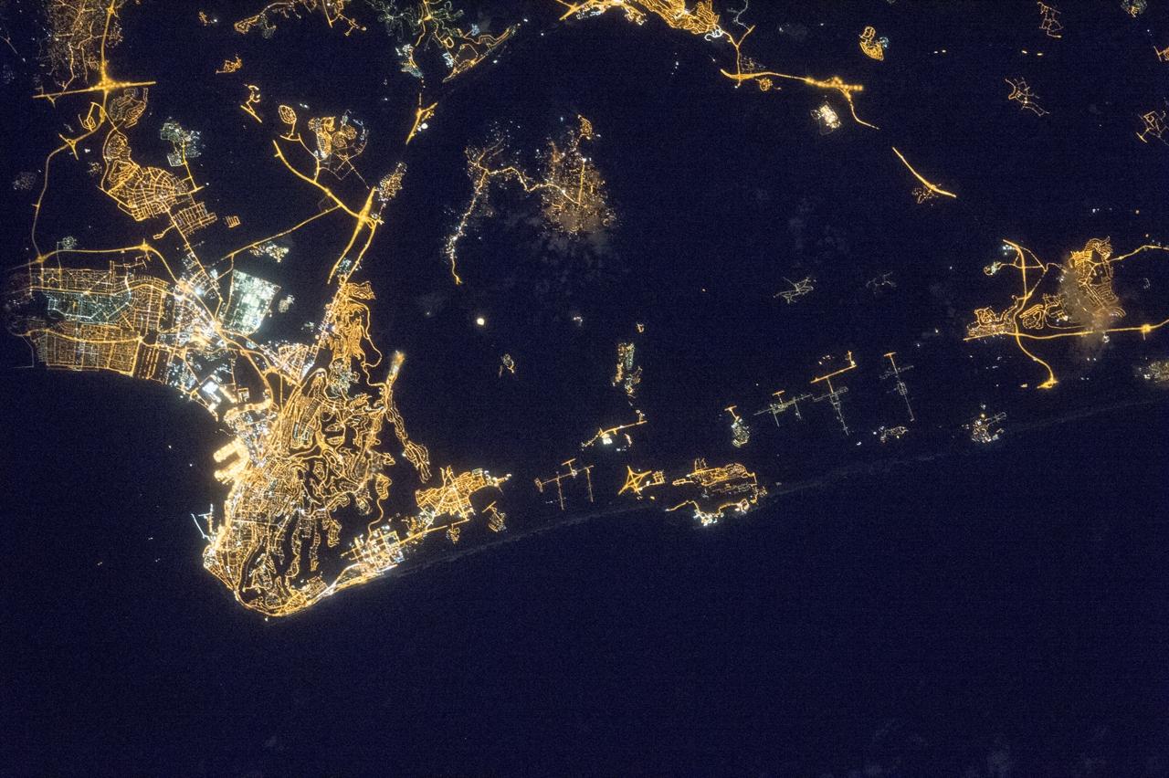 Planisfero Notturno Illuminato.L Inquinamento Luminoso Spegne La Notte Le Luci Delle