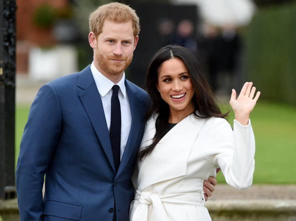 Matrimonio In Inghilterra : Harry e meghan markle sposi il matrimonio a primavera corriere