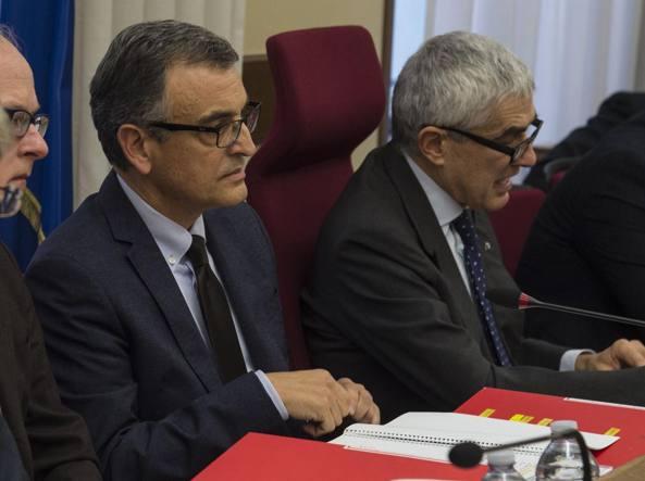 Roberto Rossi e Pier Ferdinando Casini (Imagoeconomica)