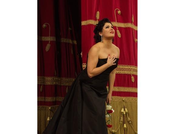 Il soprano Anna Netrebko