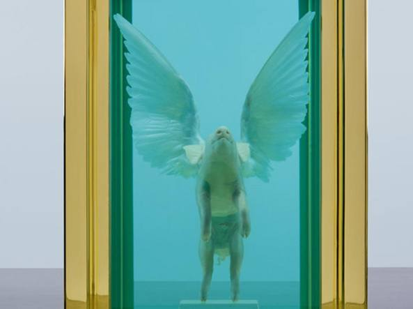 Damien Hirst, Pigs Might Fly