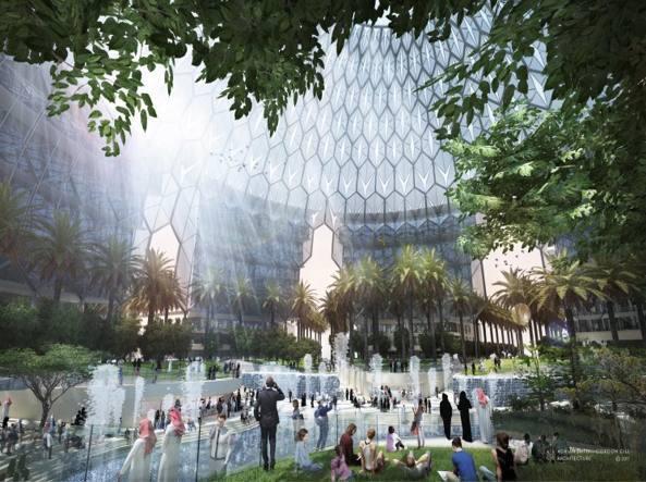 Calendario Ebau 2020 Madrid.Al Wasl Plaza Symbol Of Expo Dubai 2020 Designed In Milan