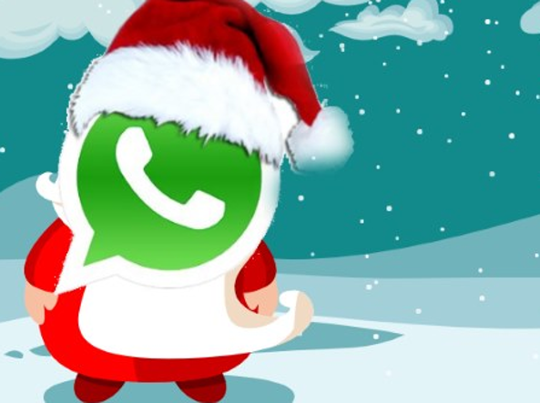Immagini Natalizie Per Profilo Whatsapp.Natale Whatsapp L Invasione Molesta Delle Chat Di Auguri
