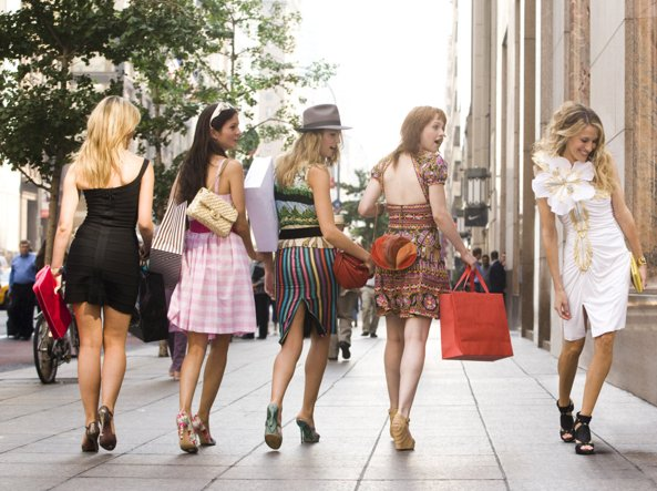 Shopping folle in Sex and the City