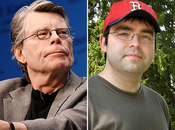 Da sinistra, Stephen e Owen King