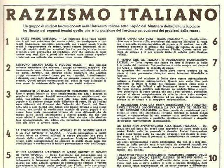 64c07062ab Il fascismo e gli ebrei: così nel 1938 le leggi razziali arrivarono anche  in Italia