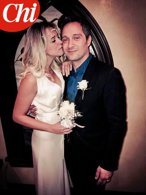 Matrimonio Simbolico Las Vegas : Francesca barra e claudio santamaria le immagini del