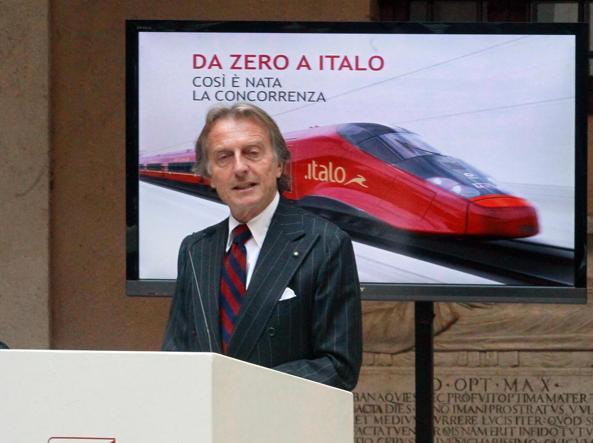 Il presidente di Italo Ntv Luca Cordero di Montezemolo