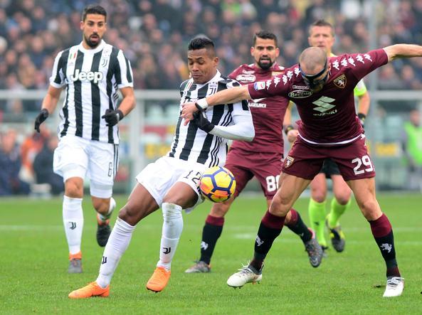 Torino-Juventus 0-1  gol di Alex Sandro i bianconeri vittoriosi ... e66f9ee571bef
