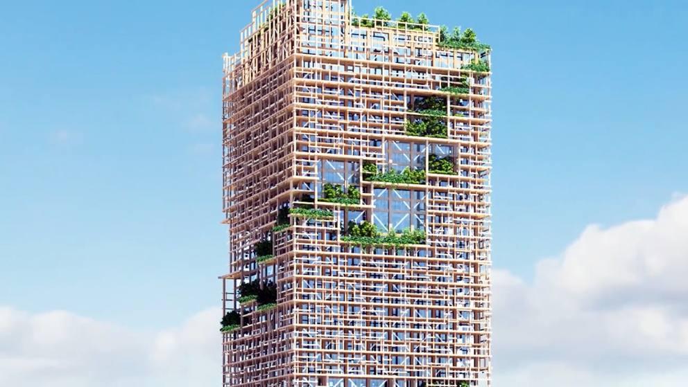 Giappone svelato il progetto per il grattacielo green for Appartamenti giappone