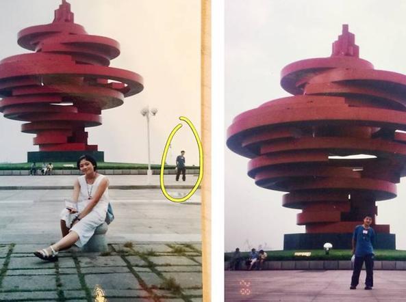 Cina Marito E Moglie Scoprono Una Vecchia Foto Che Li Ritrae