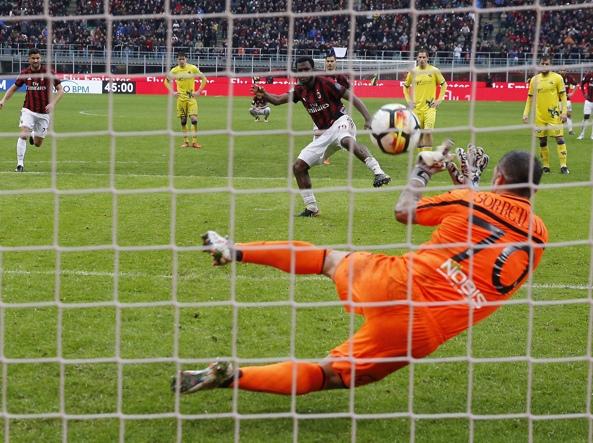 Milan-Chievo 3-2, pagelle gialloblu: estro Giaccherini, Cacciatore fa buon  muro - Corriere.it