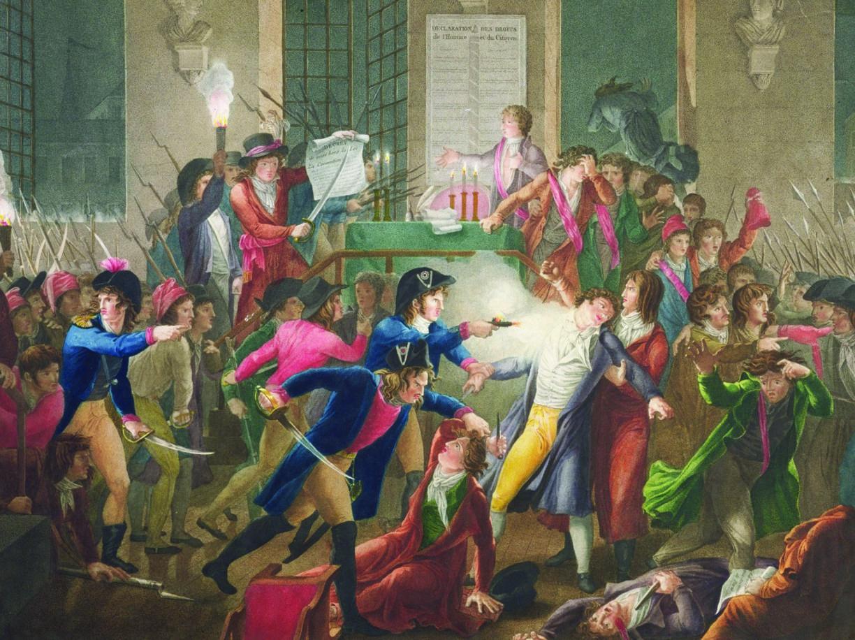 Un dipinto del pittore Jean Joseph François Tassaert (1765,1835) nel quale è