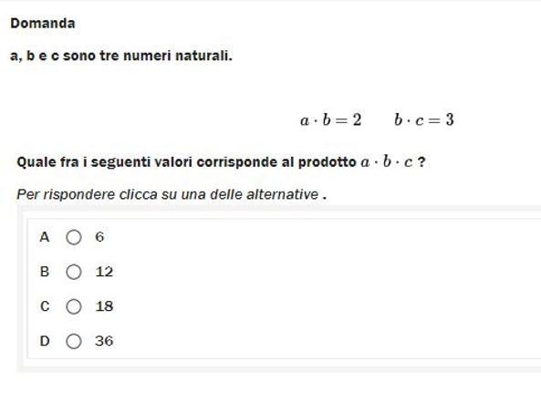 Prove Invalsi Terza Media 2018 Matematica Il Test Cineca