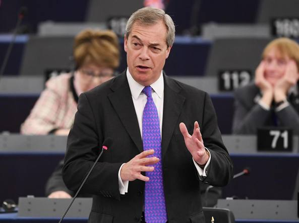 Nigel Farage (Afp)