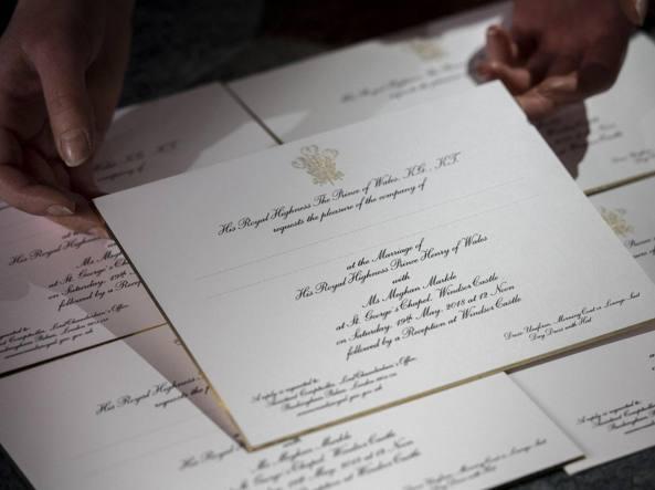Partecipazioni Matrimonio Catania.Harry E Meghan Markle Partiti Gli Inviti Del Matrimonio Corriere It